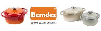 Litinové kastroly s poklicí německé značky Berndes