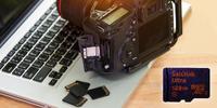 Paměťové karty formátu SD a microSD od SanDisk