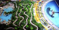 Vodní ráj Tropical Islands: doprava i vstupenka