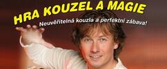 Dětské představení Hra kouzel a magie Pavla Kožíška