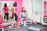 Neomezené týdenní cvičení v dámském fitku