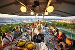 Nevšední kulinářský zážitek vysoko nad zemí