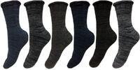 Zdravotní bambusové termo ponožky 6 párů
