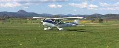 Pilotování amerického letounu Cessna 172