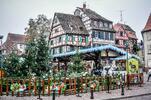 Silvestr u Rýnských vodopádů a v Basileji