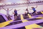 Hodina řádění na trampolínách v JumpParku Brno