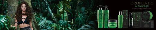 Orofluido Amazonia pro krásné vlasy + parafín na ruce