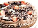 Harlekýn nebo jogurtový dort z ostravské Kolbaby
