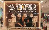 Přednabitá karta na frozen jogurty z Yogoterie