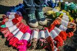 Ručně pletené Ponožky od babiček