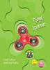 Fidget Spinner s knihou plnou triků a informací