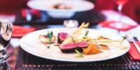 7chodové menu v luxusní fusion restauraci