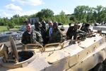 30minutová akční jízda v obrněném transportéru BVP-1