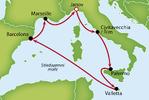 Výletní plavba Středomořím na luxusní lodi