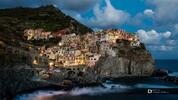 Originální světelný betlém v italské Cinque Terre