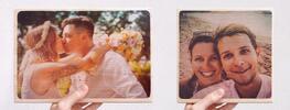 Dřevěný fotoobrázek z vaší vlastní fotografie