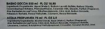 Parfémová voda a sprchový gel Nani s aloe vera