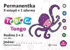 Permanentka do zábavního parku Tongo a dárek