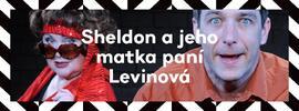 Vstupenka na Sheldon a jeho matka paní Levinová