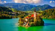 Výlet do Slovinska: jezero Bled a město Maribor