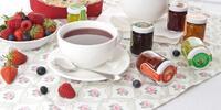 Sada pečených čajů z ovoce a bylinek