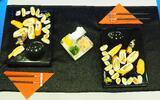 Výtečné sushi v restauraci s výhledem na město