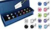 Sety náušnic s krystaly Swarovski Elements a Cubic Zirconia