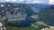 Dachstein: vyhlídka Pět prstů a Mamutí jeskyně