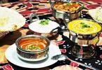 Indické menu podle výběru pro pár: 2 pobočky
