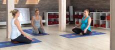Předporodní příprava se cvičením gravidjógy