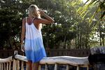 Vzdušné šaty z Bali v ombré stylu