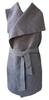 Dámské designové vesty se zavazováním v pase