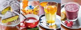 Dortík, káva a exotické smoothie z açaí