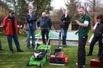 Kurz péče o trávník: sekání, zavlažování, hnojení