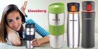 Nerezové termohrnky Klausberg v mnoha provedeních