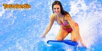 Surfování v aquaparku Tatralandia pro 2 osoby