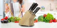 Sady nožů ve stojanu francouzské značky Sabatier