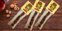 Vlašské či lískové ořechy s hroznovou šťávou