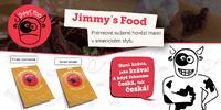 10 nebo 20 balíčků sušeného masa Jimmy's Food