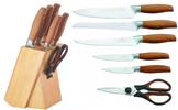 Sady kuchyňských nožů z nerezové oceli