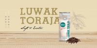 Prémiová cibetková káva Excelso z Indonésie
