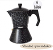 Moka konvičky pro přípravu pravé italské kávy