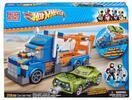 Herní sada Hot Wheels s kamionem a špionským autem