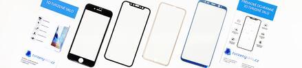 Tvrzené 3D sklo k ochraně displeje iPhonu