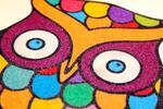 Kreativní sady s barevným pískem
