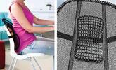 Aby záda nebolela: opěrka pro zdravé sezení