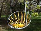 Zahradní závěsná křesla a hnízda pro relax