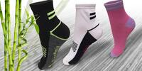 12 párů funkčních bambusových unisex ponožek