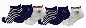 Barevné bambusové ponožky pro dámy