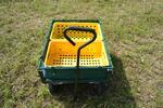 Sada pro údržbu trávníku: Sekačka a vozík